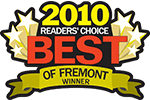 Best of Fremont 2010 Winner