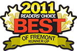 Best of Fremont 2011 Runner Up