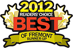 Best of Fremont 2012 Runner Up